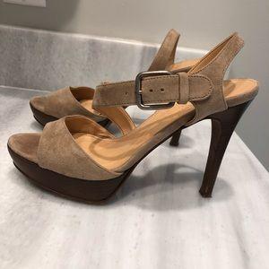 Jcrew open toe shoe